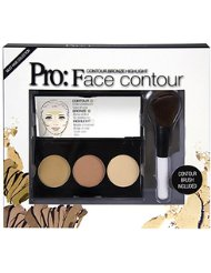 THE COLOR WORKSHOP Pro Palette de 3 Teintes Contouring...