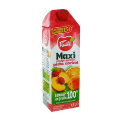 jus multifruits orange pomme peche abricot fruite 1.5l