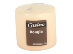 Bougie cylindrique Creme