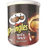 Pringles chips hot and spicy 40g