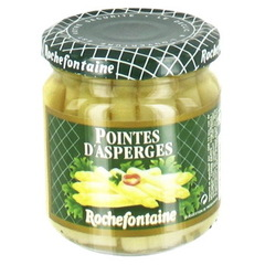 Pointes d'asperges blanches ROCHEFONTAINE, 212ml