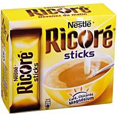 Cafe soluble a la chicoree RICORE, 10 sticks, 50g