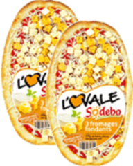 Pizza l'Ovale 3 fromages 400 g