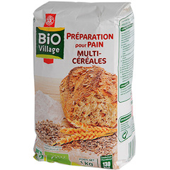 Preparation pain Bio Village Multicereales 1kg