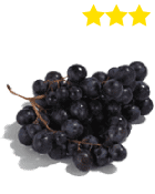 Raisin noir Muscat Selection