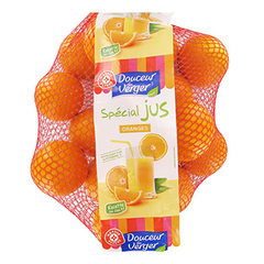 Oranges a jus Douceur du Verger Filet 2kg