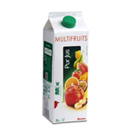 Auchan Pur jus multifruits brique de 2l
