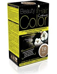 Beauty Hair Color - BHC70 - Coloration Permanente aux Extraits Végétaux - 7.0 Blond