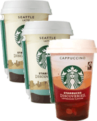Discoveries = 2 Seattle Latte + 1 Cappuccino