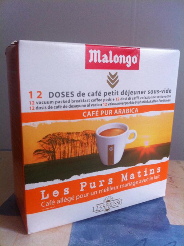 malongo pur matin dose x12 78g tous les produits caf s. Black Bedroom Furniture Sets. Home Design Ideas