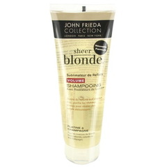 John Frieda Sheer Blonde Shampooing Volume pour Cheveux Blonds 250 ml