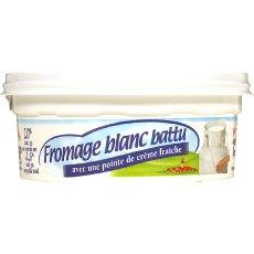 Fromage blanc battu 20% MG 250g