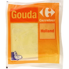Fromage a pate pressee non cuite, gouda jeune, Holland