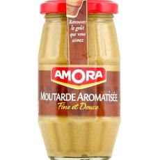 Moutarde aromatisee AMORA, 265g