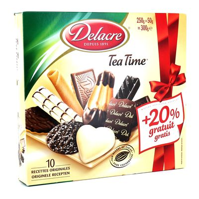Assortiment de 10 varietes de biscuits - Tea Time