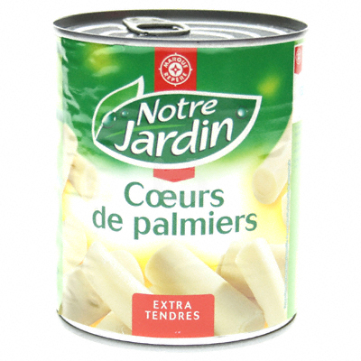 Coeurs palmiers Notre Jardin Extra-tendres 500g