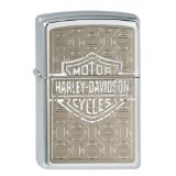 Zippo Briquet #200 Harley-Davidson Hidden Bar & Shield