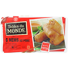 Nems porc Tables du Monde x6 420g