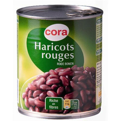 Cora haricots rouges 4/4 500g