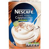 Nescafé Café Menu Cappuccino Decaff Unsweetened Taste 15 g (Pack of 6, Total 60 Units)