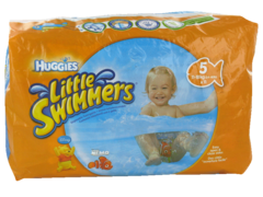 Culottes de bain jetables Little Swimmers large HUGGIES, + de 14kg, 10 unites
