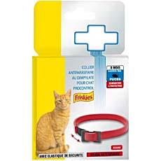 Collier anti parasites pour chat Procontrol FRISKIES, rouge