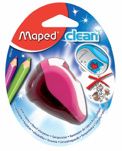 Maped taille crayon clean 2 trous, le blister