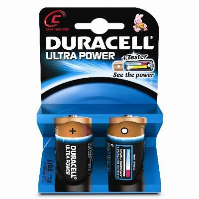 Ultra power lr14x2, blister de 2 piles