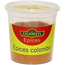 Epices pour Colombo Chamsyl, 70g