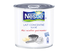 Lait concentre Sucre