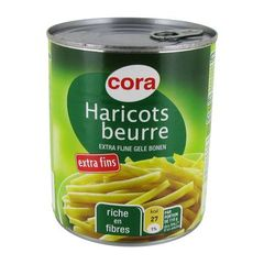 Haricots beurre extra fins
