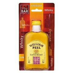 Scotch whisky WiILLIAM PEEL, 40°, 20cl