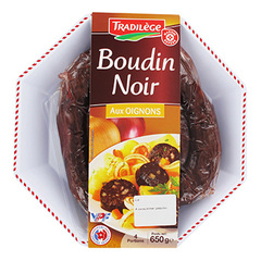 Boudins noirs Tradilege Aux oignons 650g