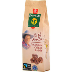 Cafe moulu Bolivie Entr'aide 250g