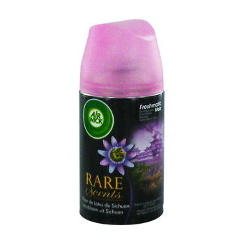 recharge freshmatix max rare scents fleur de lotus air wick 250ml