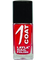 Layla Cosmetics Milano Vernis à Ongles 1 Coat Devil Wears Red 17 ml