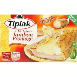 Galette Jambon Fromage 2 x 125g
