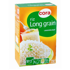 Riz long grain de qualite superieur