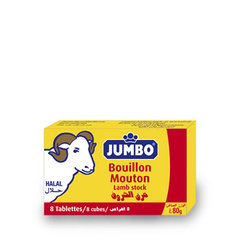Bouillon de mouton Halal - 8 tablettes
