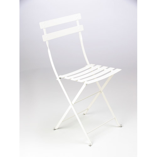 Chaise Bistro Metal Blanc