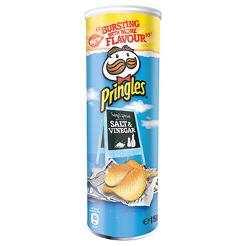 Pringles sel et vinaigre 150g - Tous les produits chips