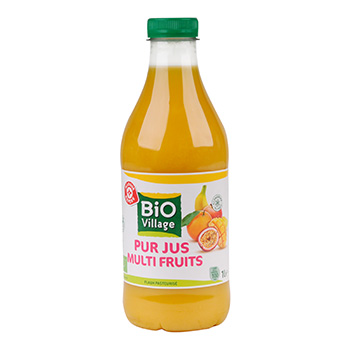Pur jus multifruits Bio Village 1l