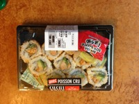 Sushi Spicy Roll saumon Sushi Daily