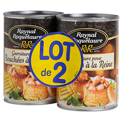 Garniture bouchees reine Raynal 2x385g