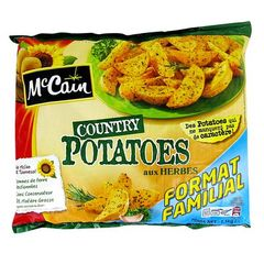 Mc Cain country potatoes 1,5kg