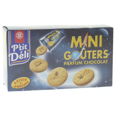 Biscuits P'tit Deli Mini gouter Chocolat 168g