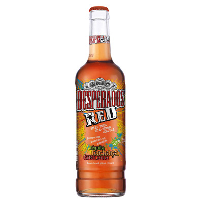 Biere a la Tequila DESPERADOS Red, 5,9°, 65cl