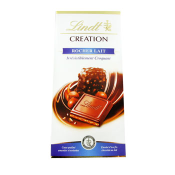 Chocolat Rocher Lait - Creation