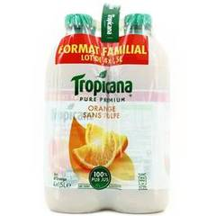 Tropicana pure premium orange sans pulpe 4x1,5l