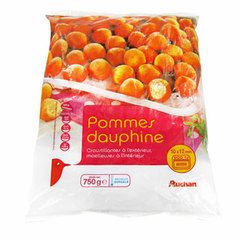 Auchan pommes dauphines 750g